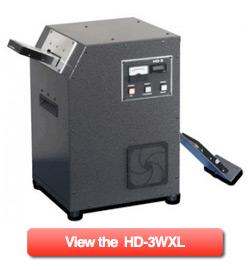 Degaussing machine